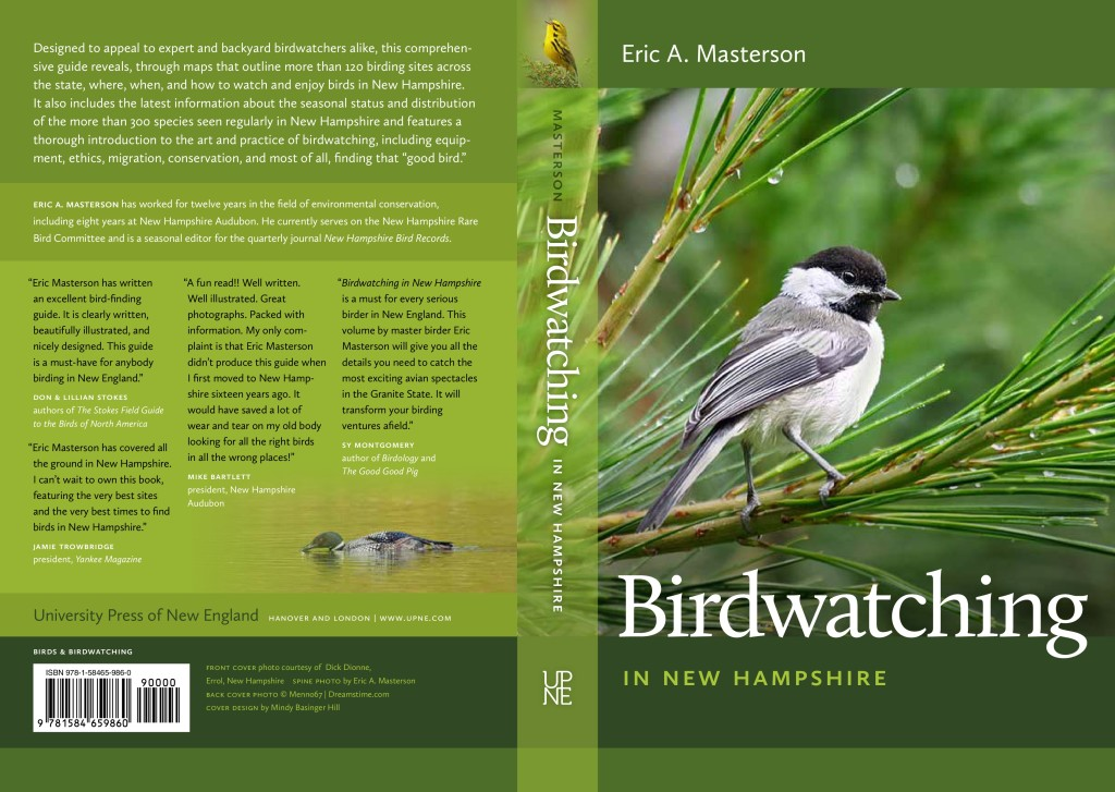 Birdwatching in New Hampshire, available in stores now.